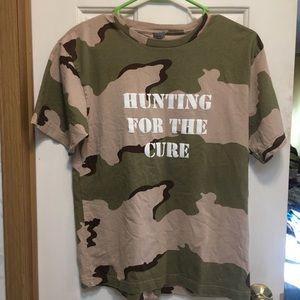 Breast cancer women's tee shirt